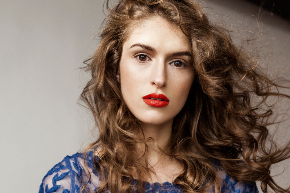 Retail Merchandising major and model Emily Gernes.