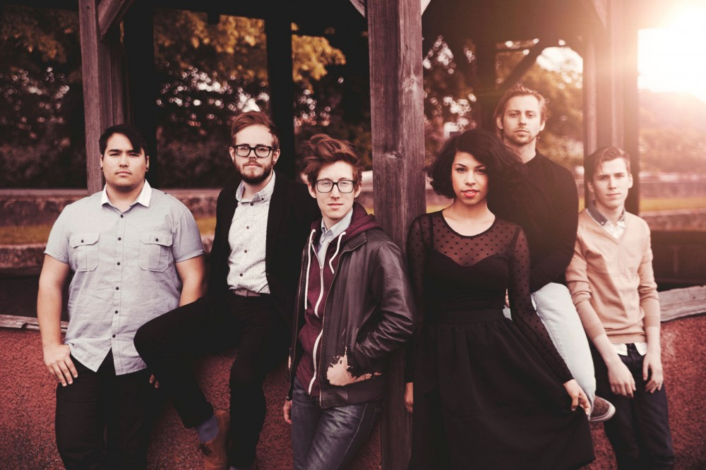 From left: Matteo Roberts, Matthew Holmen, David Roberts, Monica Martin, Zach Johnston and Jason Krunnfusz of Phox.
