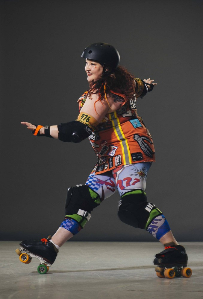 Evonne Bilotta-Burke is a RollerGirl, an Associate to the Director of the Multicultural Center and an instructor in the leadership department at the University.