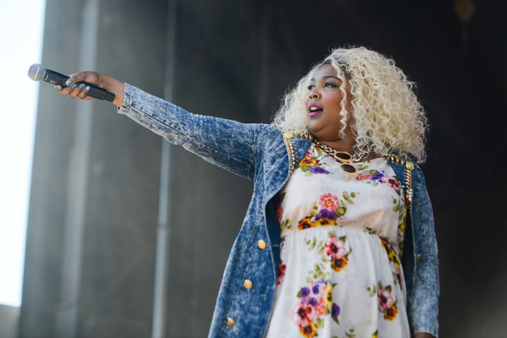 Lizzo performs at Rock the Garden on June 21, 2014. Lizzo will be a part of this year's Spring Jam line-up, along with YG, Travis Porter, Kiesza and Betty Who.