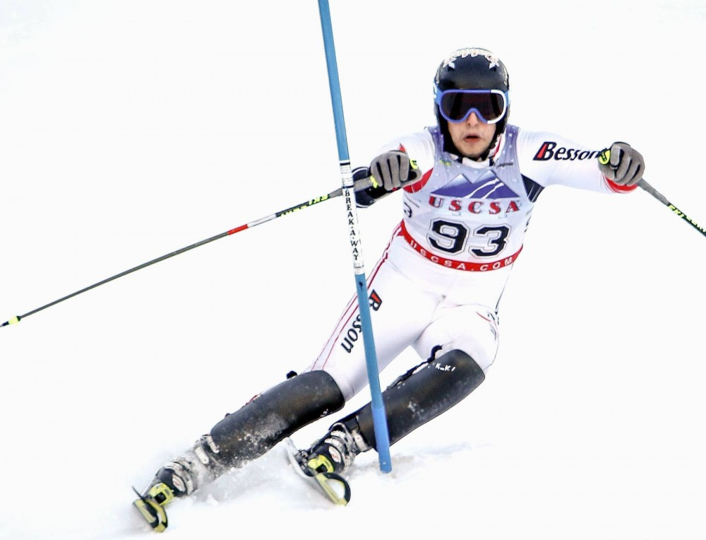 University alpine skier Madison Whalen competes on March 2.