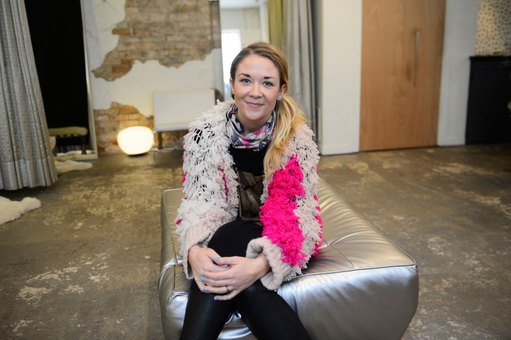 Sarah Edwards poses at Arrow Boutique in Minneapolis on Wednesday. Edwards, with the help of her group I AM KXNDNESS, will present the I AM FABULOUS! fashion show at the Varsity Theater on Sunday to celebrate beauty and style at every age.
