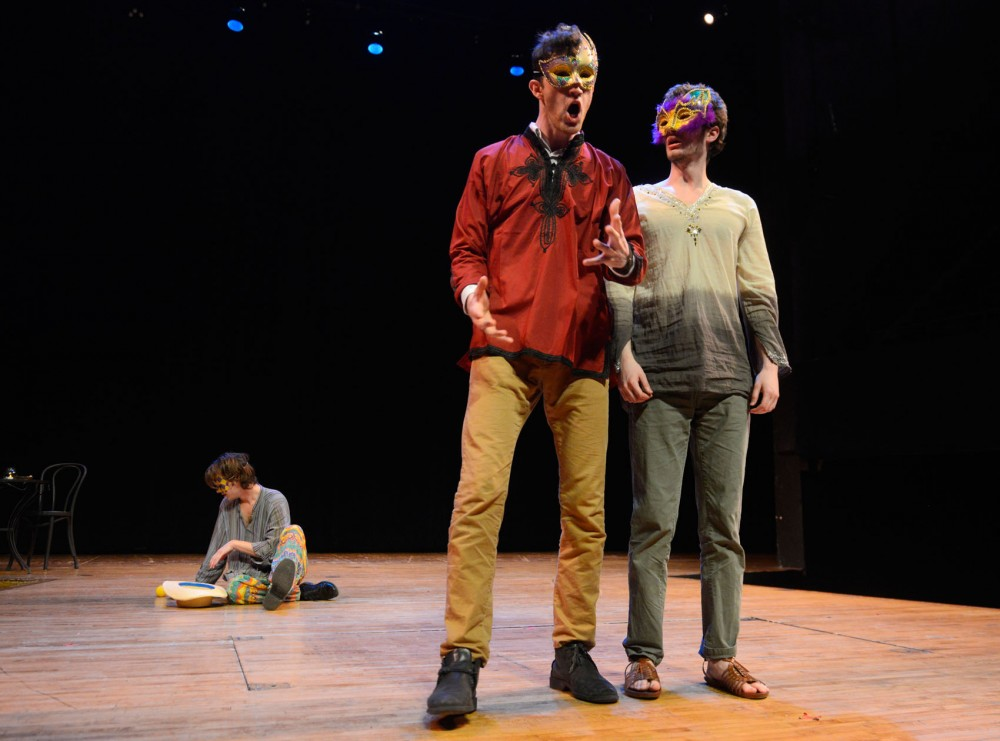 Theatre BFA students rehearse for Shakespeare's