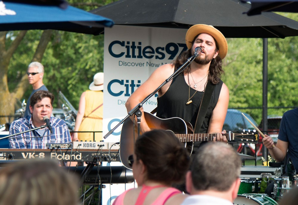 Dan Rodriguez performs at Cities97 Oake on the Water at Maynards on Thursday, July 9. Oake on the Water, a summer concert series, takes place at various lakeside restaurants from May through August.