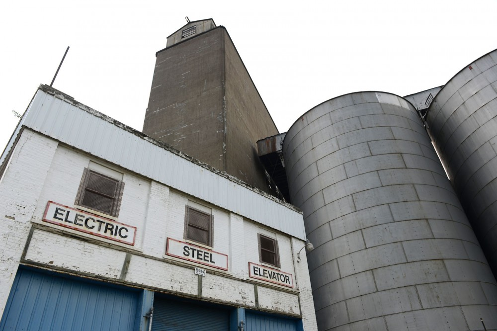 The Electric Steel Elevator in stands in Prospect Park on June 30, 2015. Last week, the Minneapolis Heritage Preservation Commission voted to deny the demolition request of the elevator because of it's local historical significance.