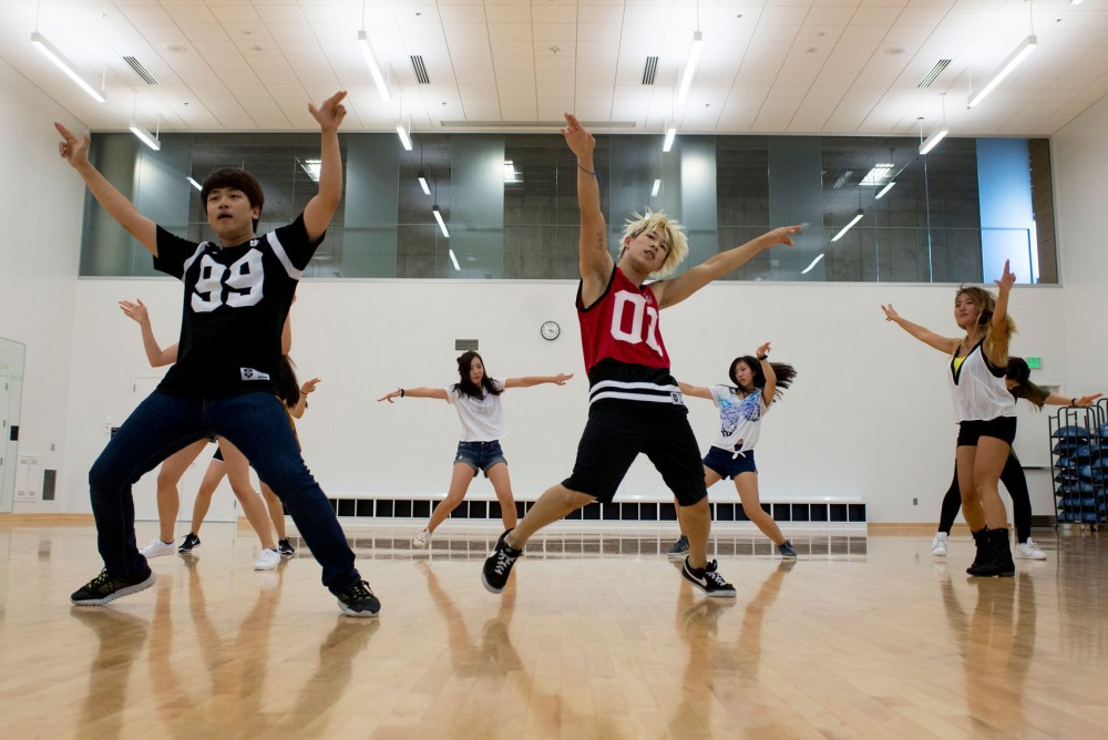 Minnesota Kpop Dance Crew practices at the University recreation center on Thursday, Sept. 3. The group is hosting Minnesota Kpop Festival 2015 this weekend.