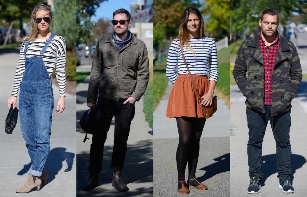 (Left to right) Hayley Borsenik, Eli Miller, Tianna Larson, Matt Swinney