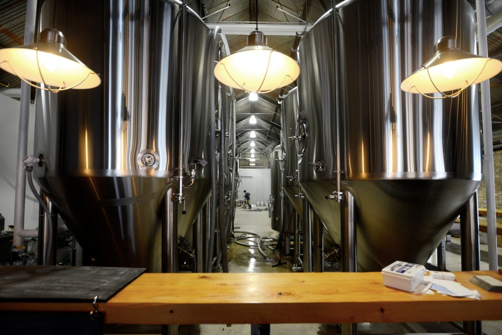 Lake Monster Brewing's brewery and taproom brings a new brewpub experience to St. Paul's Vandalia Tower complex.