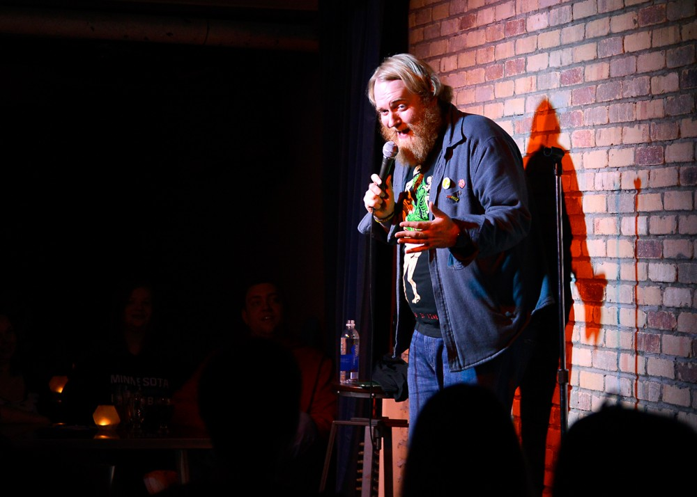 Local comedian Adam Quesnell performs at Sisyphus Brewing on Saturday night. Quesnell will be performing two nights at the Comedy Corner Underground this weekend.