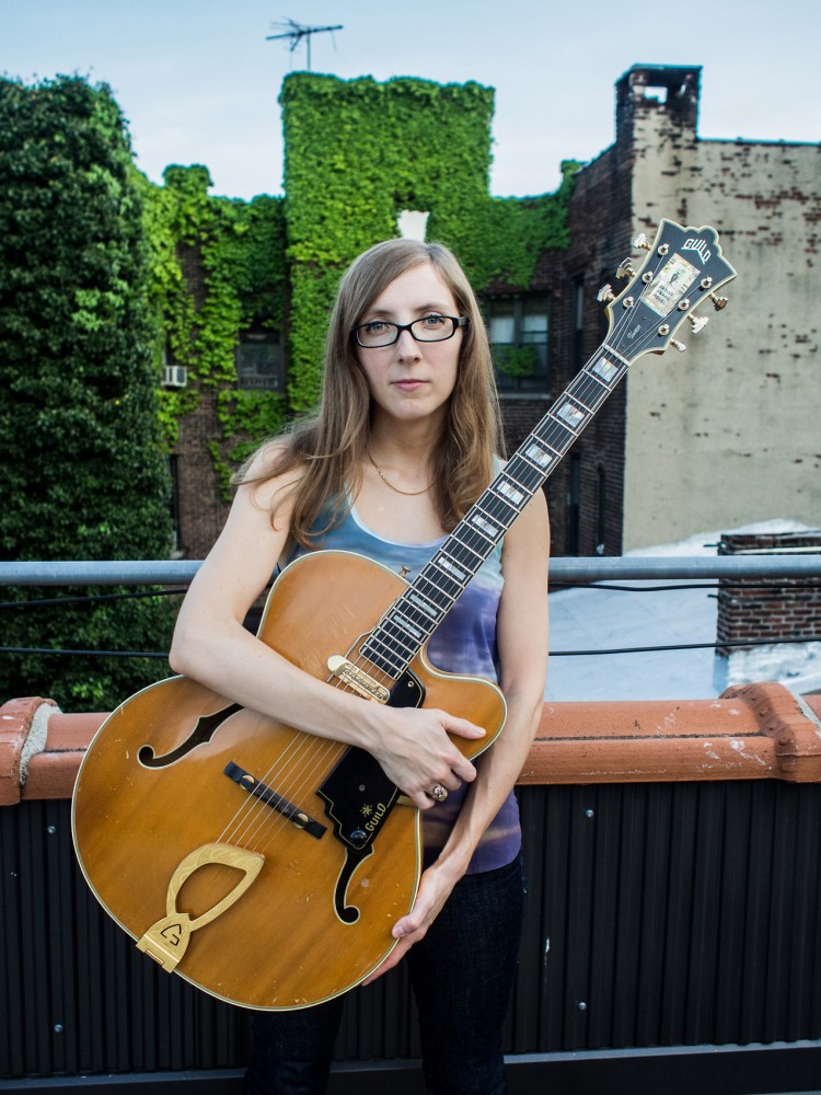 Avant-rock guitarist Mary Halvorson is playing at the Walker Art Center Thursday, on tour for her latest solo effort,