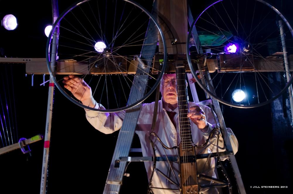Rinde Eckert performs as Harold in