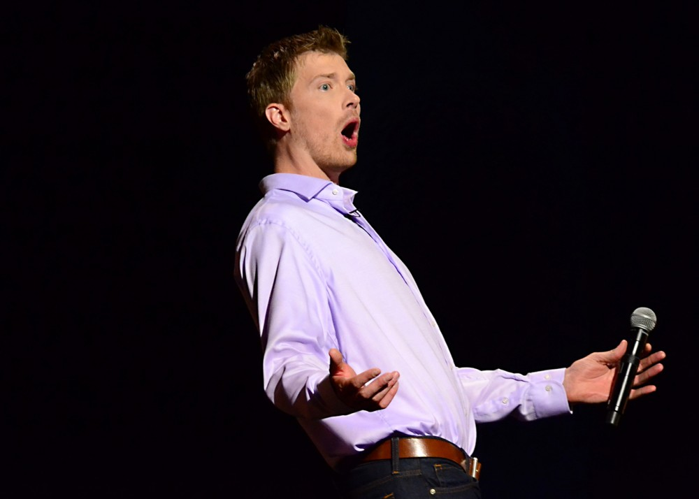 Comedian Shane Mauss will perform at Acme Comedy Company on Tuesday. He's touring behind his latest special,