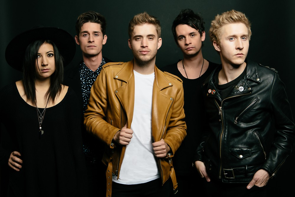 Five-piece pop-rock band, The Summer Set, is playing in Burnsville on April 22. The band released
