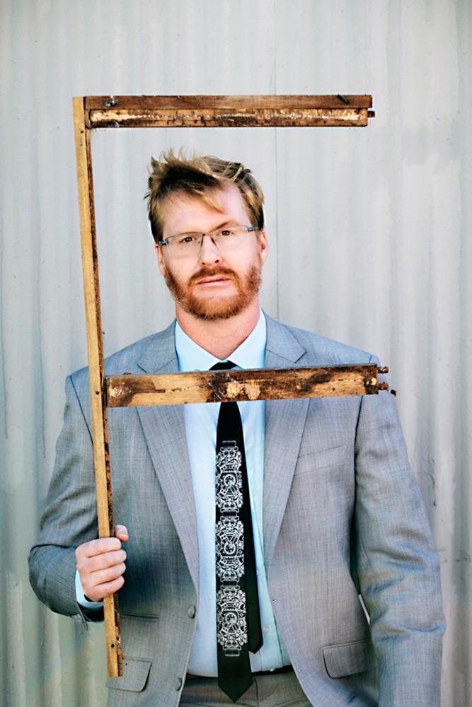 Comedian Kurt Braunohler, who will be headlining Acme Comedy Club through Saturday.