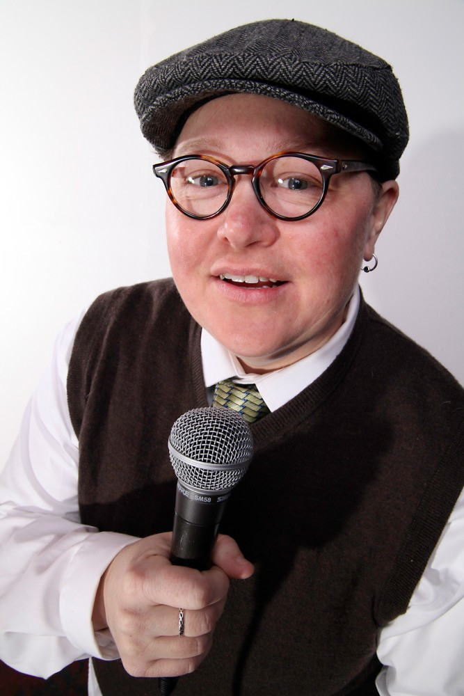 Local comedian and host of