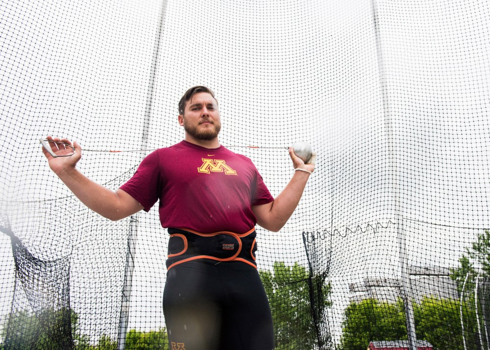 Senior Sean Donnelly is competing in the 2016 NCAA Outdoor Track & Field Championship for hammer throw. Donnelly tossed the hammer 74.35 meters at the Baldy Castillo Invitational this season, which is reported as the ninth farthest throw in the world.