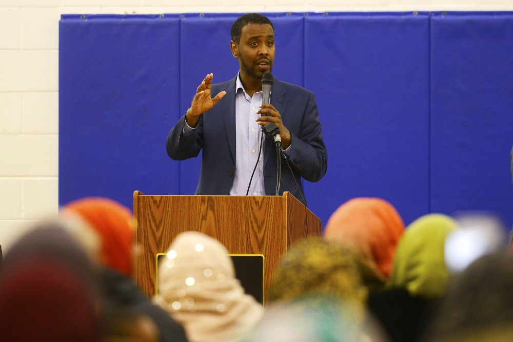 Politician and Ward 6 Minneapolis City Councilmember Abdi Warsame.