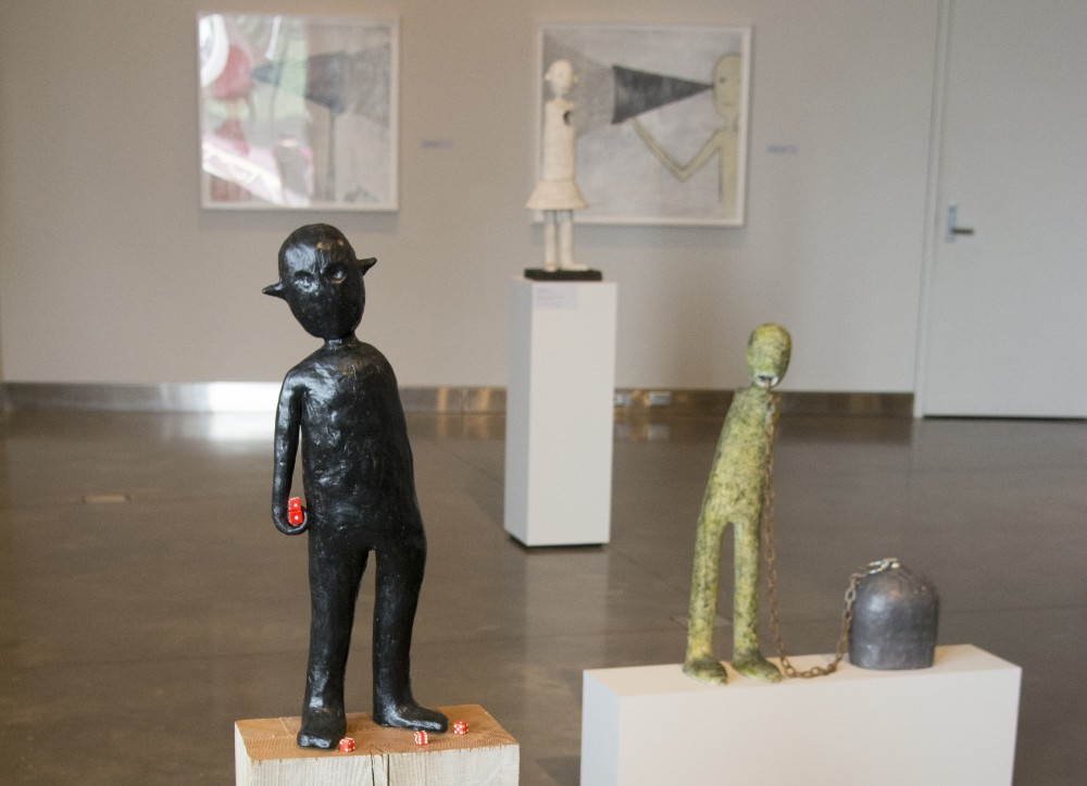 Some of the figures created by Melissa Stern for her