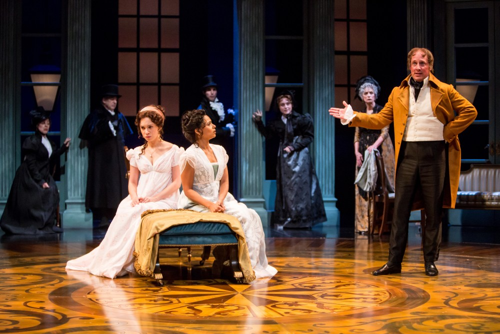 The Guthrie Theater's production of Sense and Sensibility, adapted by Kate Hamill and directed by Sarah Rasmussen.