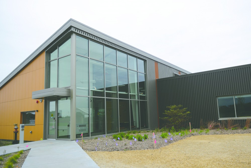 The newly built University of Minnesota Bee and Pollinator Research Lab located on the St. Paul campus is pictured on Sept. 23, 2016. The new lab is set to open on Oct. 29.