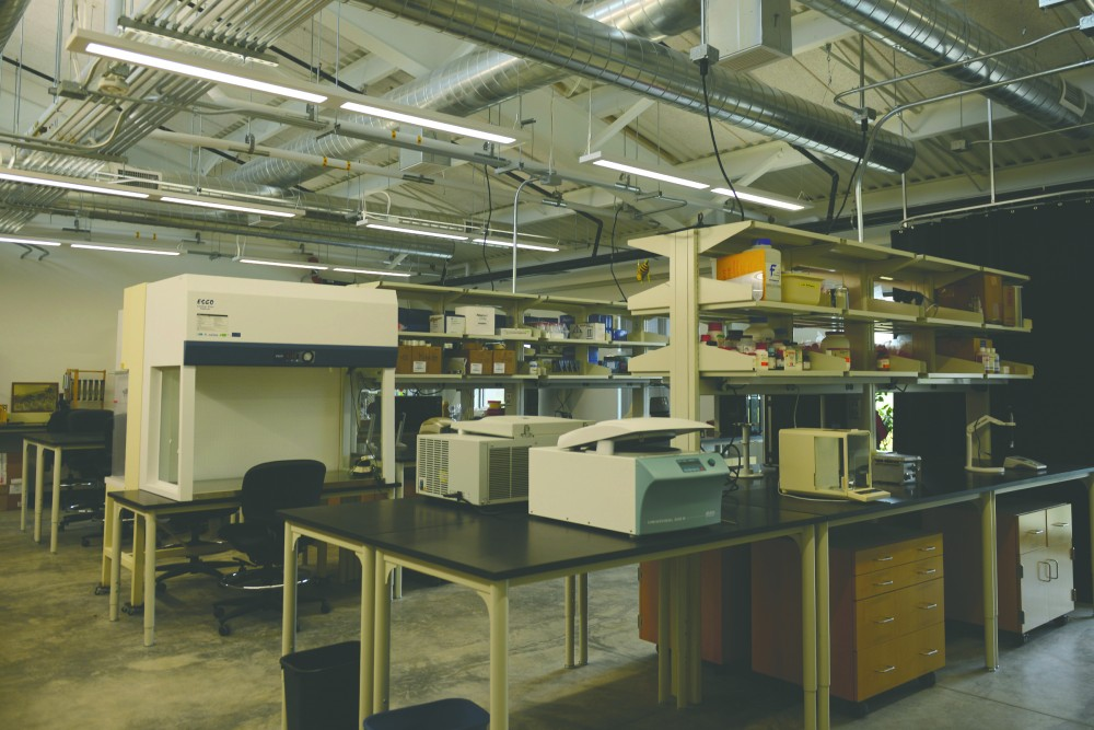 The St. Paul campus new Bee Lab features a brand new lab facility, featured here on Sept. 23, 2016