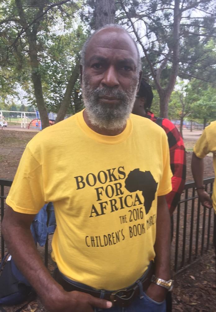 David Robinson at the BFA Children's Book March.