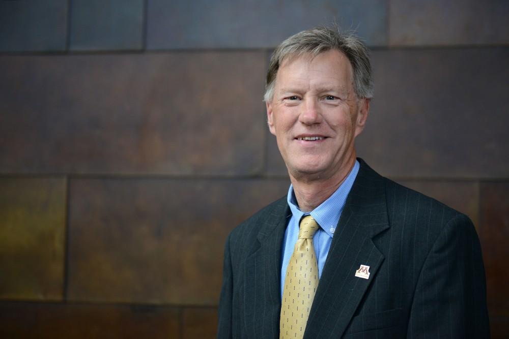 Regent Thomas Anderson poses for a portrait on Thursday, Oct. 6, 2016 at McNamara Alumni Center.