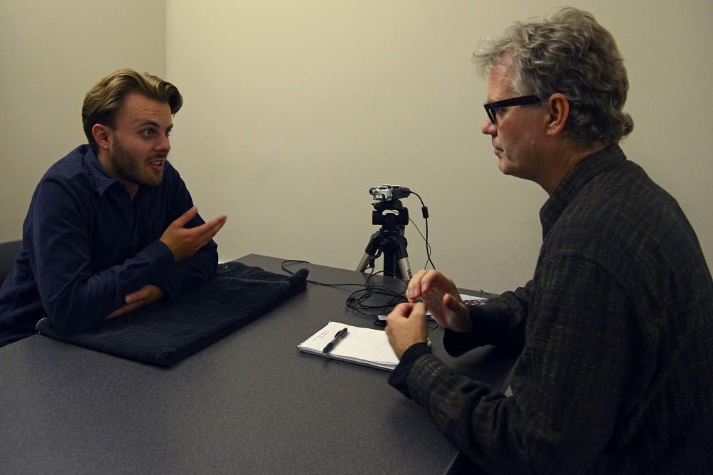 Steve Stokowski interviews artist Michael Johnson for his podcast