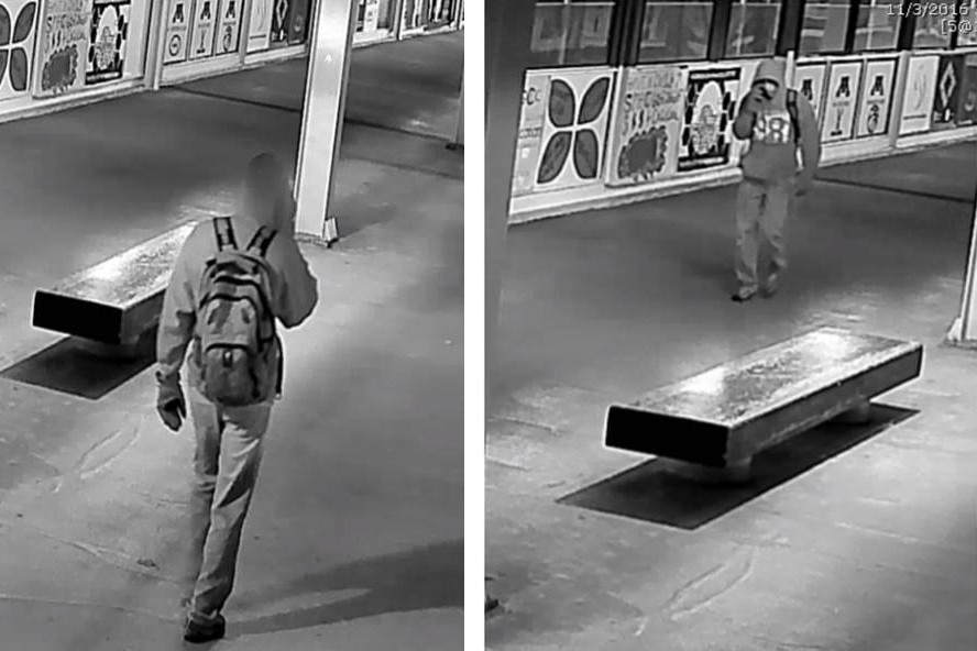 The University of Minnesota Police Department released an image of a person of interest in the Nov. 3 defacing of the Muslim Students Association's Washington Avenue Bridge mural.