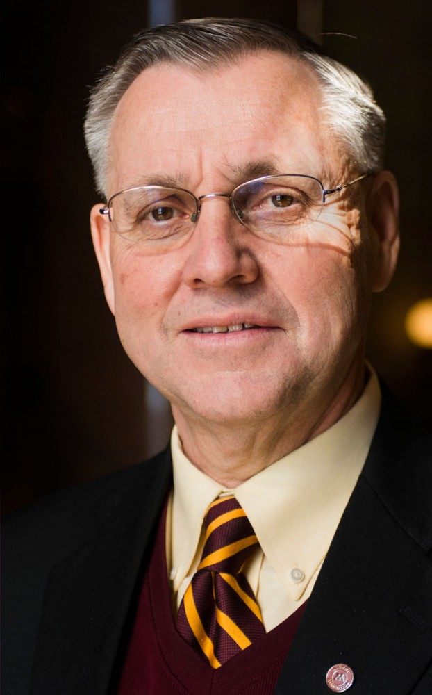 University of Minnesota Board of Regents Chair Dean Johnson poses for a portrait at the state Capitol on Feb. 13, 2013.