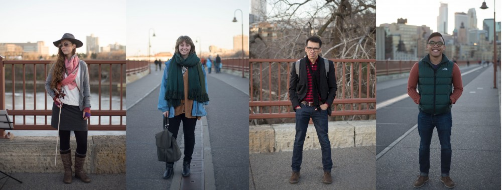 Street style: It's 60 degrees in November!
