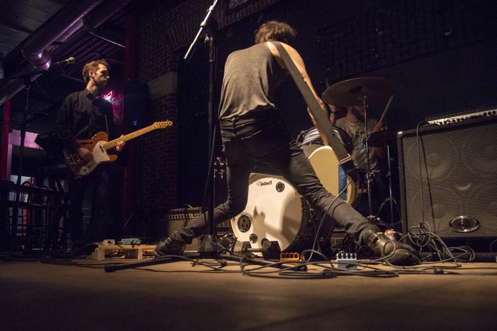 Posh Lost performs at the Triple Rock Social Club on Nov. 4, 2016.