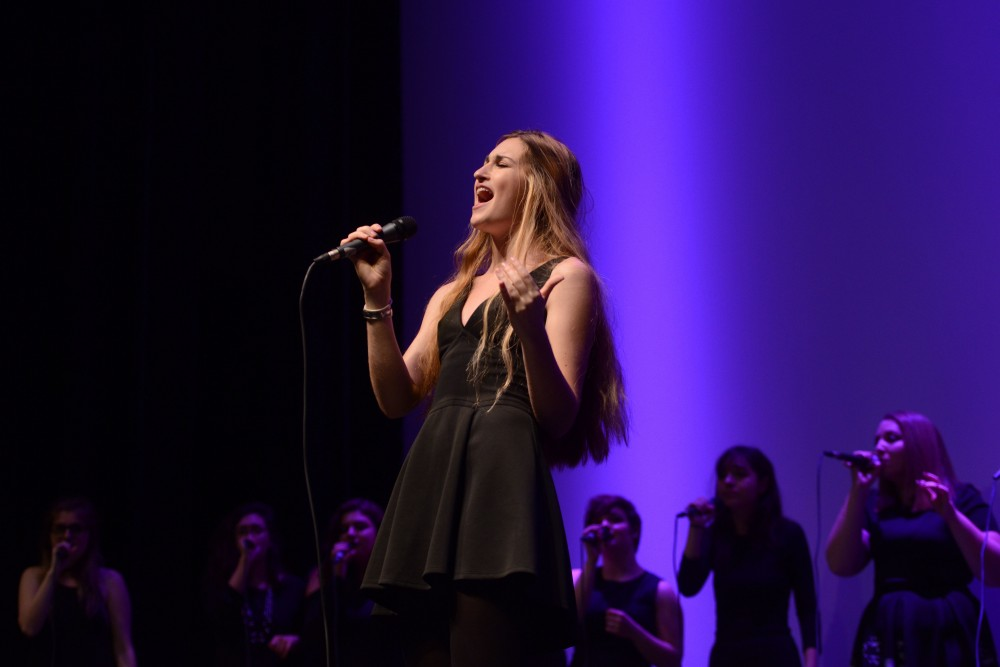 Chrissy Taylor performs the song