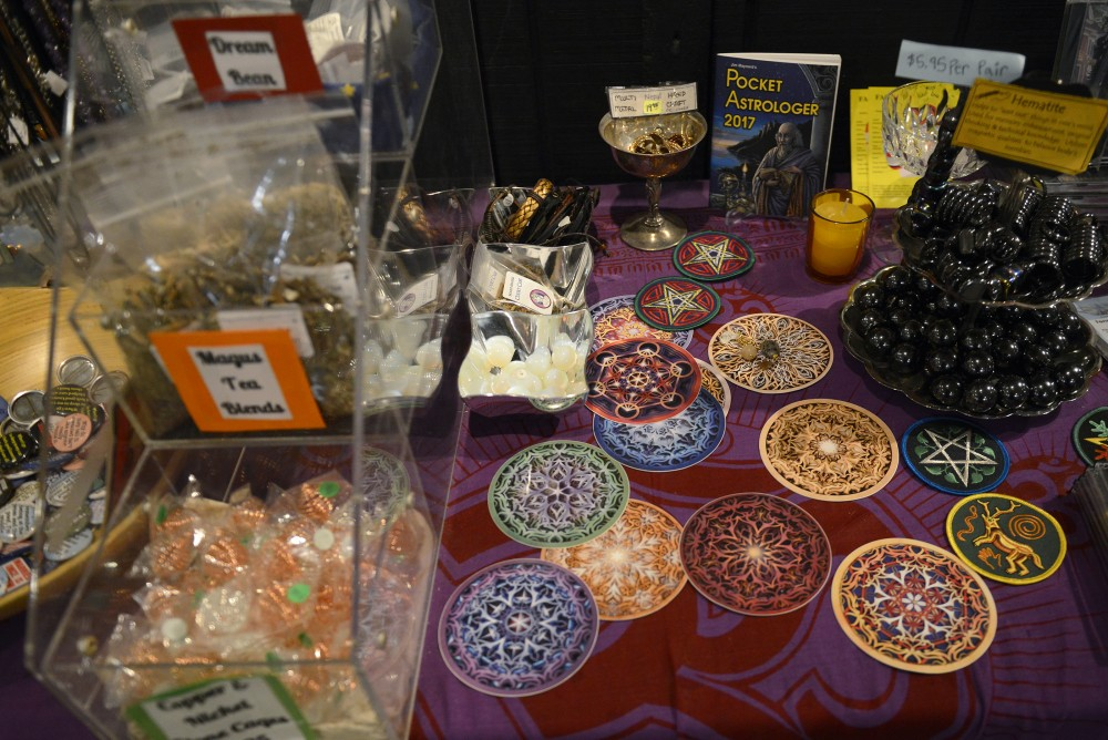 Merchandise sits on display at Magus Books and Herbs  on Jan. 25, 2016. Located in Dinkytown, Magus offers a variety of spiritual services and goods to the Minneapolis community.