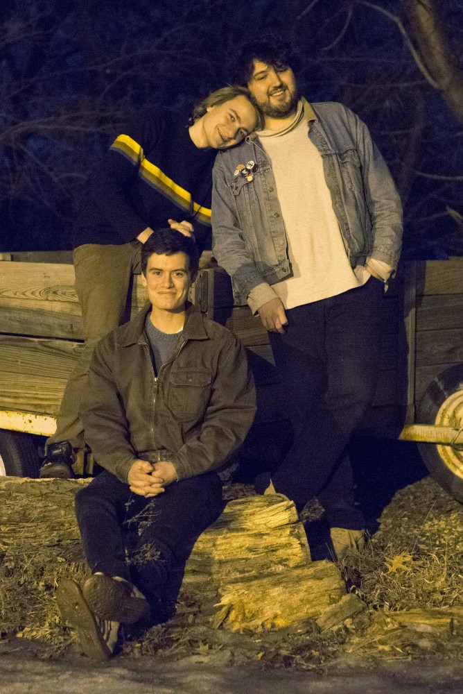 Tact poses for a photograph outside on Friday, Feb. 10, 2017 in Minneapolis. The band released a single and have started playing live.