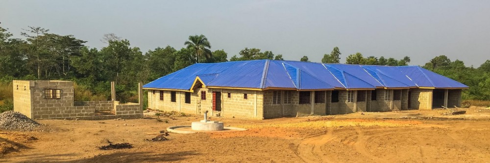 Gauri Kelkar, a sustainable design student, is working on a birth waiting home in Sierra Leone.