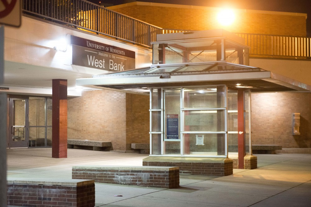 A view outside of Blegen Hall on West Bank on Monday July 3. A robbery was reported at this location at around 4:45 a.m.