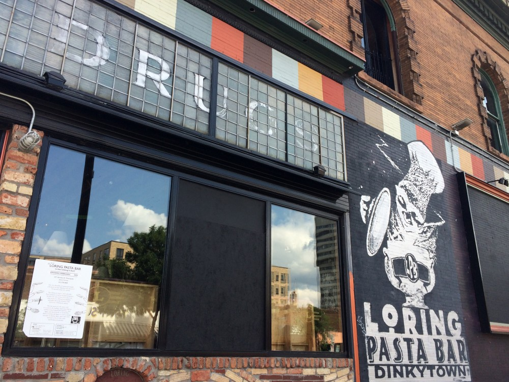 Loring Pasta Bar as seen on Aug. 2, 2017. The restaurant will reopen Aug. 9 as the rebranded LRx: Loring and Pharmacy Bar under new ownership of longtime managers.