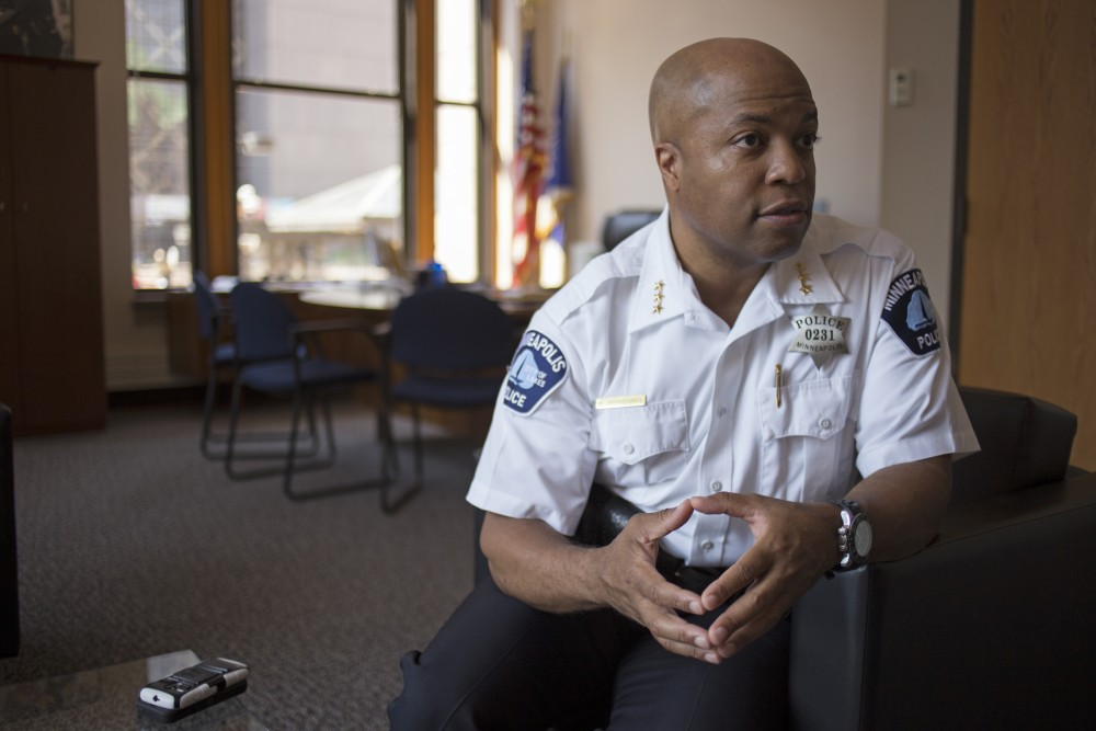 Newly appointed Minneapolis Police Chief Medaria