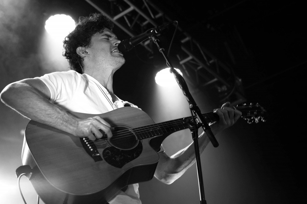 """Multi-platinum Australian singer/songwriter Vance Joy performs last Thursday at First Avenue, a stop along his sold-out """"Lay It On Me"""" world tour."""