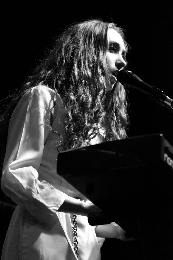 19-year-old singer-songwriter from Missouri Chappell Roan opens for Vance Joy last Thursday at First Avenue.