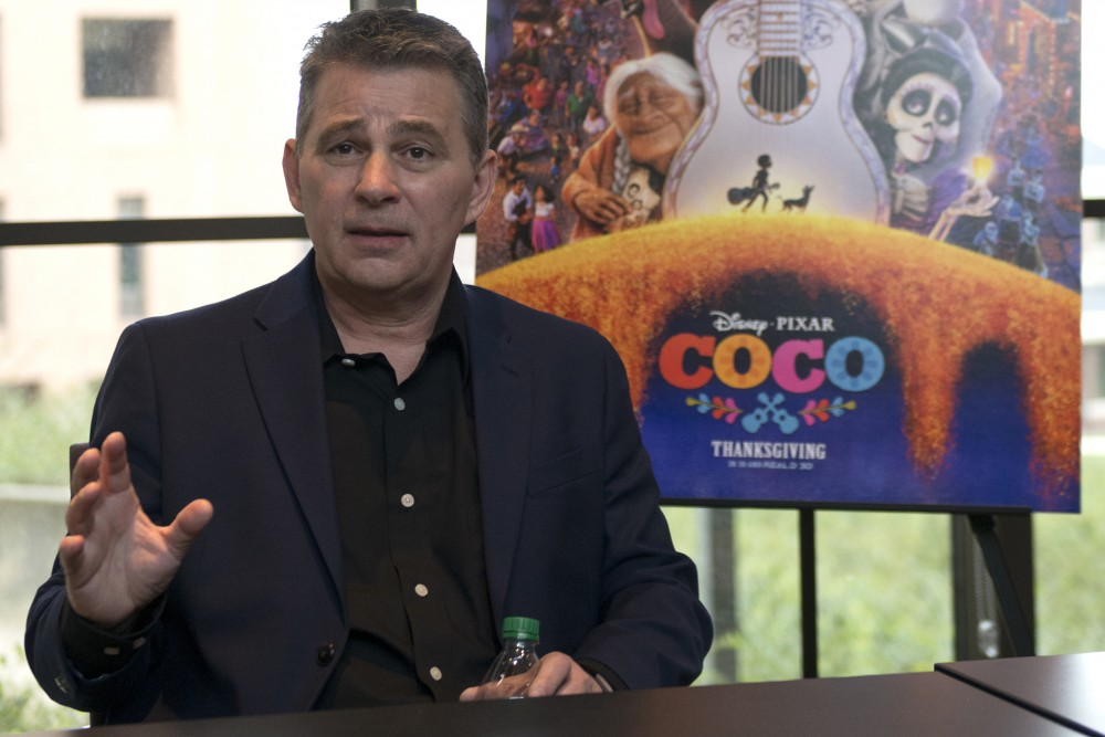 Designer Chris Bernardi sits down the Minnesota Daily to discuss his role in PIXAR's new film