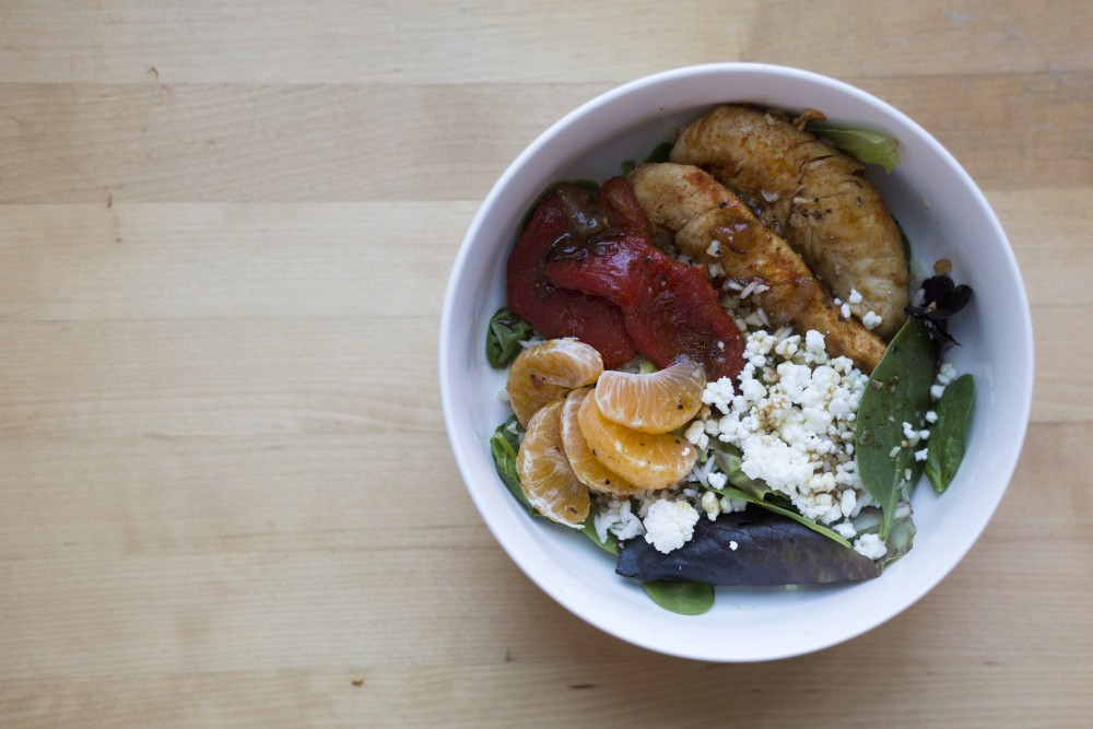 Minnesota Daily reporter Maddy Folstein chopped, sautéed and peeled to assemble a