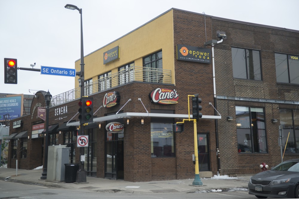 Raising Cane's Chicken Fingers at its Stadium Village location on Sunday, Jan. 28. The owner of the location is opening a second store in Dinkytown, with plans to be open for late nights on Fridays and Saturdays until 3 a.m.