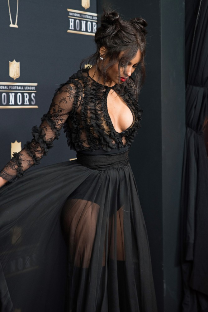 Ciara on the red carpet at the NFL Honors awards on Saturday, Feb. 3 at Northrop Auditorium.