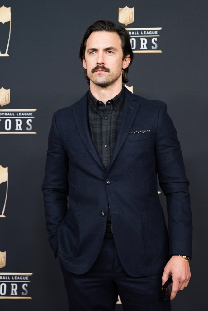 Milo Ventimiglia on the red carpet at the NFL Honors awards on Saturday, Feb. 3 at Northrop Auditorium.