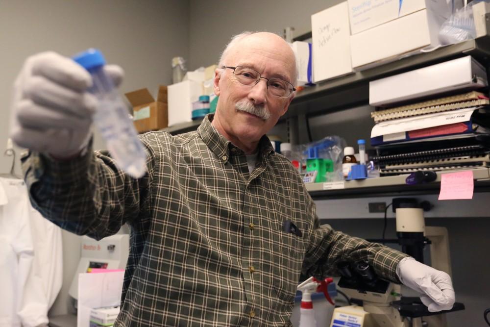 Dr. Timothy O'Brien swirls