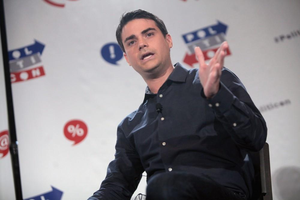 Ben Shapiro speaking at the 2016 Politicon at the Pasadena Convention Center in Pasadena, California.