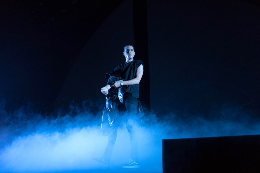 G-Eazy preforms to a sold-out crowd at Roy Wilkins Auditorium on Thursday, March 8.