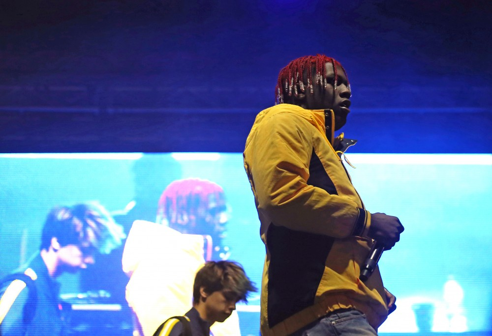 Lil Yachty performs at Spring Jam on Saturday, April 21, 2018 in Minneapolis.
